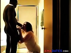 Girl in hot homemade interracial