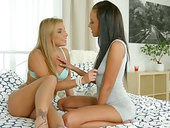 A sexy morning for two pussy loving beauties and these girls are so horny
