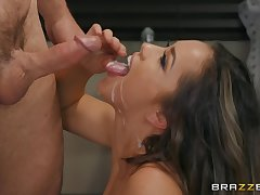 After she masturbates on the couch Alina Lopez is ready for sensual fuck