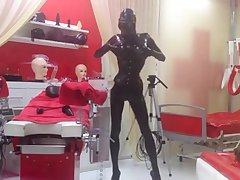 Spending some time in front amazing latex/rubber dungeon Studio Black Fun in Germany.
