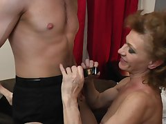 Varga Zsuzsanna likes to fuck with her young neighbor without shrift