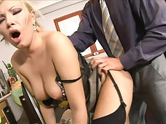 Hot Babe Russian Secretary Tight Rear End - dona bell