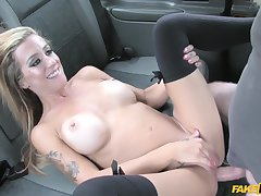 Skyler Mckay receiced driver's cock inside anal hole