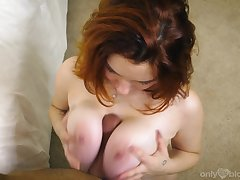 Lovely lass Annabel Redd proffers a sizzling POV blowjob