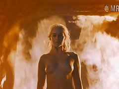 Animation can't hurt Khaleesi and that smoking hot beauty loves being naked