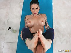 Seductive scenes of hardcore workout in anal POV concerning the wife
