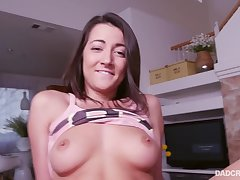 DAD POV - Take your father's load girl
