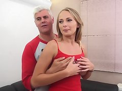 Attractive Ivana Sugar can't nab moaning while her man smashes her