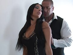 Astonishing cheating wife Anissa Kate gets fucked away from a large bushwa