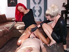 German Domina Let Following Lick Mistress Teen Pussy To Org