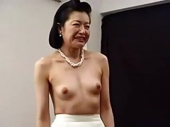 Horny Japanese Asian Cougar Fucked With Toys
