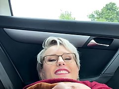 Puma Swede lord it over milf alone outdoor fingering