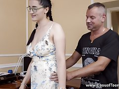 Sexual delight for the super stepdaughter with insane skils